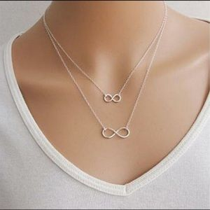Jewelry - Double Eights Pendant Necklace